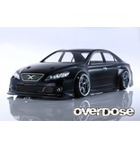 Overdose Toyota Mark X GRX130 ST-Garage Ver. Clear Body (195mm/Decal/Masking/Light Bucket)