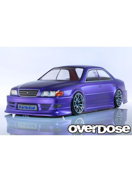 Overdose Toyota Chaser JZX100 Chaser Clear Body