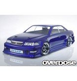 Overdose Toyota Mark II JZX100 Clear Body (195mm/Decal/Masking/Light Bucket)