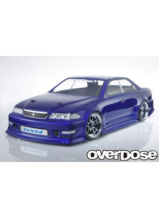 Overdose Toyota Mark II JZX100 Clear Body