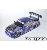 Overdose Toyota Mark II JZX100 Clear Body & Weld Hyakushiki Sangouki Graphic Decal Set