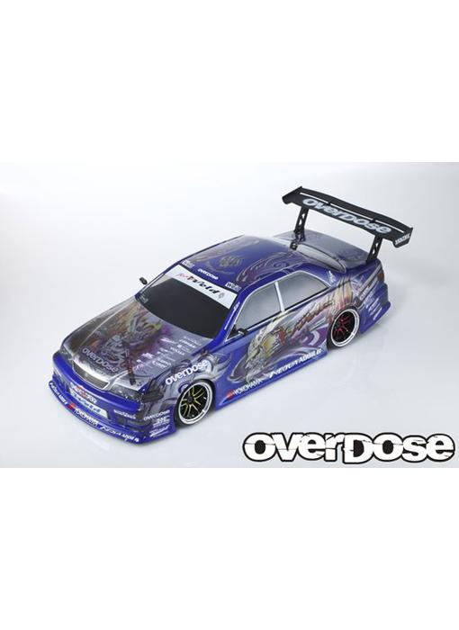 Overdose Toyota Mark II JZX100 Clear Body & Weld Hyakushiki Sangouki Decal Set