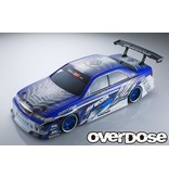 Overdose Toyota Mark II JZX100 Clear Body & Weld Hyakushiki Gogouki Graphic Decal Set