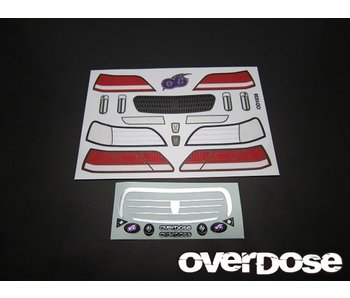 Overdose 3D Graphic Series Light & Emblem Set for OD Toyota Cresta JZX100