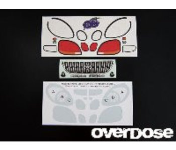 Overdose 3D Graphic Series Light & Emblem Set for OD Toyota Aristo