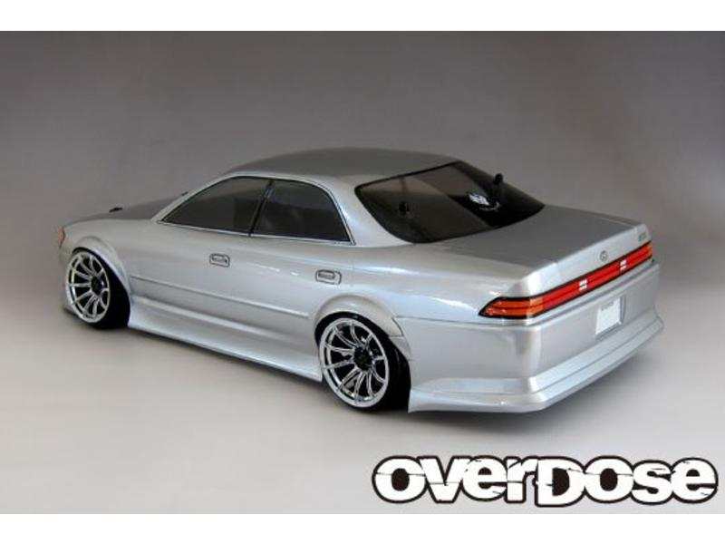 Overdose Toyota Mark II JZX90 Clear Body (200mm/Decal/Masking/Light Bucket)