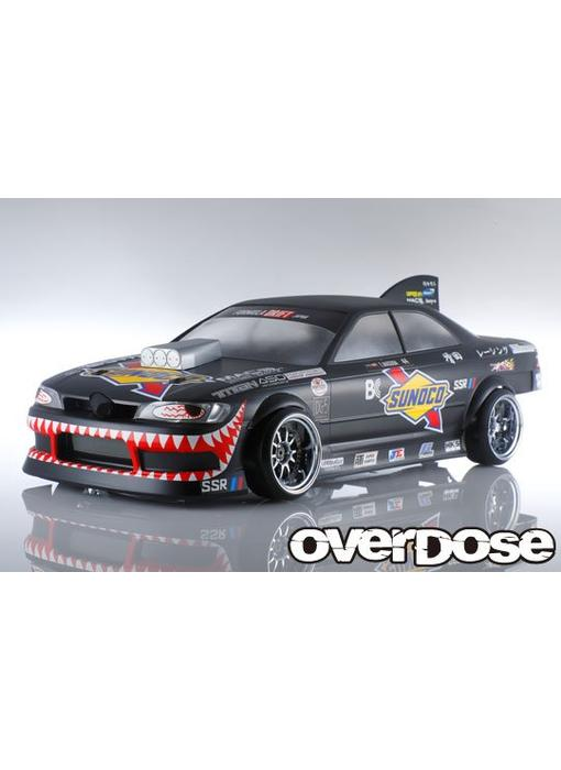 Overdose Toyota Mark II JZX90 Clear Body & Masuda☆Racing Decal Set