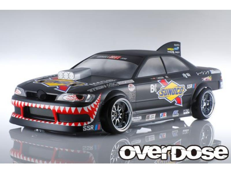 Overdose Toyota Mark II JZX90 Clear Body & Masuda☆Racing Graphic Decal Set