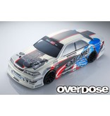 Overdose Toyota Mark II JZX100 Clear Body & Team Kenji with Tomei Powered Graphic Decal Set