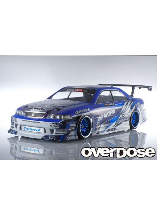Overdose Toyota Mark II JZX100 Clear Body & Weld Hyakushiki Gogouki Decal Set