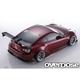 Overdose Scion Weld FR-S Clear Body (F:196mm/R:200mm/Decal/Masking/Light Bucket/Wing)