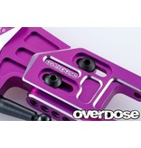 Overdose Adjustable Aluminium Rear Suspension Arm Type-2 for OD / Color: Red