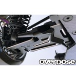 Overdose Adjustable Aluminium Rear Suspension Arm Type-2 for OD / Color: Purple