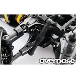 Overdose Adjustable Front Suspension Arm Type-2 for OD / Color: Black