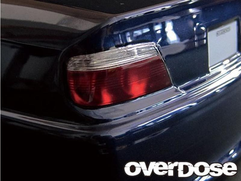 Overdose 3D Graphic Series Light & Emblem Set for OD Toyota Chaser JZX100