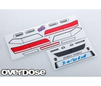 Overdose 3D Graphic Series Light & Emblem Set for OD Toyota Mark II JZX100