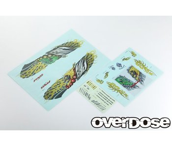 Overdose Weld FujinRaijin Graphic Decal Set - DISCONTINUED