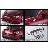 Overdose 3D Graphic Series Grille & Emblem Set for OD Weld FR-S