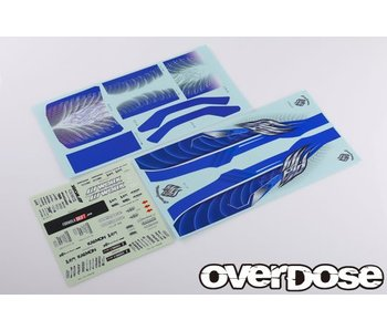 Overdose Weld Hyakushiki Gogouki Graphic Decal Set