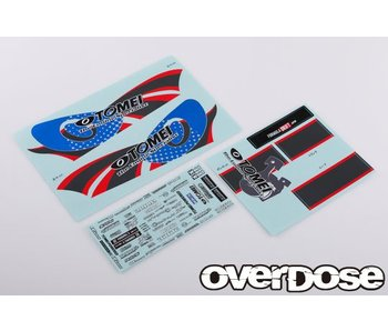Overdose Team Kenji with Tomei Powered Graphic Decal Set