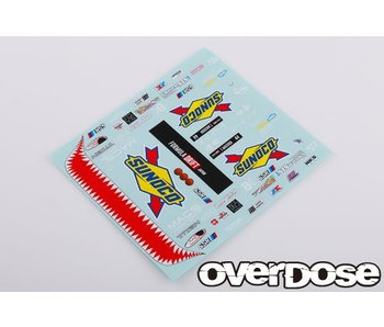 Overdose Masuda☆Racing Graphic Decal Set