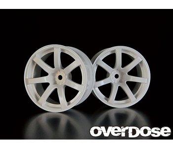 Overdose Work Emotion XT7 / White / 7mm (2)