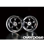 Overdose Work VS KF / Color: Chrome / Offset: 5mm (2pcs)