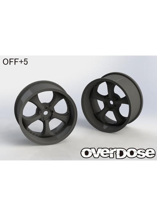 Overdose Work VS KF / Black / 5mm (2)