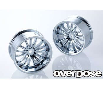 Overdose Work Emotion M8R / Chrome / 5mm (2)