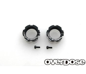 Overdose Aluminum Shock Adjust Nut for HG Shock (2)