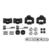 Overdose Adjustable Aluminium Rear Upright for OD, YD-4, YD-2 / Color: Black