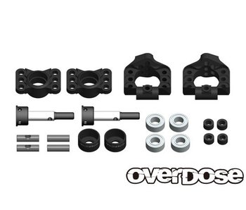Overdose Adj. Alum. Rear Upright for OD, YD-4, YD-2 / Black