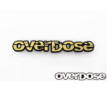 Overdose Emblem OVERDOSE Letter Type / Gold