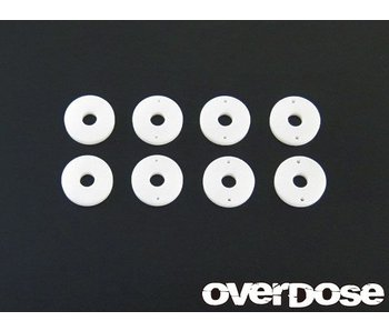 Overdose POM Shock Piston Set for DRB, DIB (φ0.6x2/φ0.7x2/φ0.8x2/Blank)