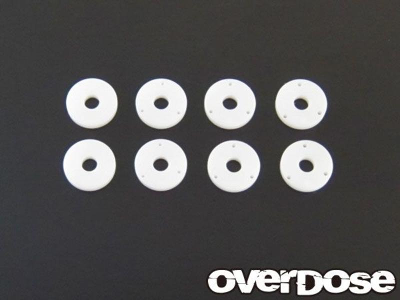 Overdose PTFE Shock Piston Set for DRB, DIB (φ0.6x3/φ0.7x3/φ0.8x3/Blank)