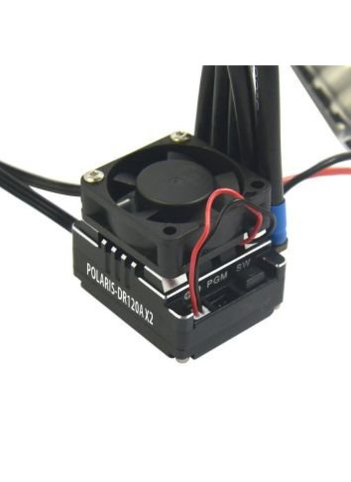 RC OMG Polaris DR120A-X3 V4.0 ESC - Black