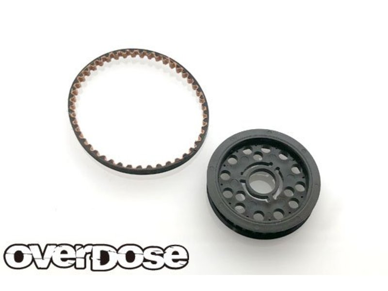 Overdose High Speed Pulley Set for GALM (Standard Drive)