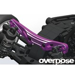 Overdose Height Adjustment Aluminum Rear Shock Tower for XEX, XEX Vspec. / Color: Black