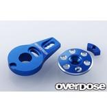 Overdose Aluminum Servo Saver Horn Type-2 for OD1462 / Color: Blue