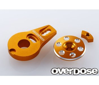 Overdose Alum. Servo Saver Horn Type-2 for OD1462 / Gold
