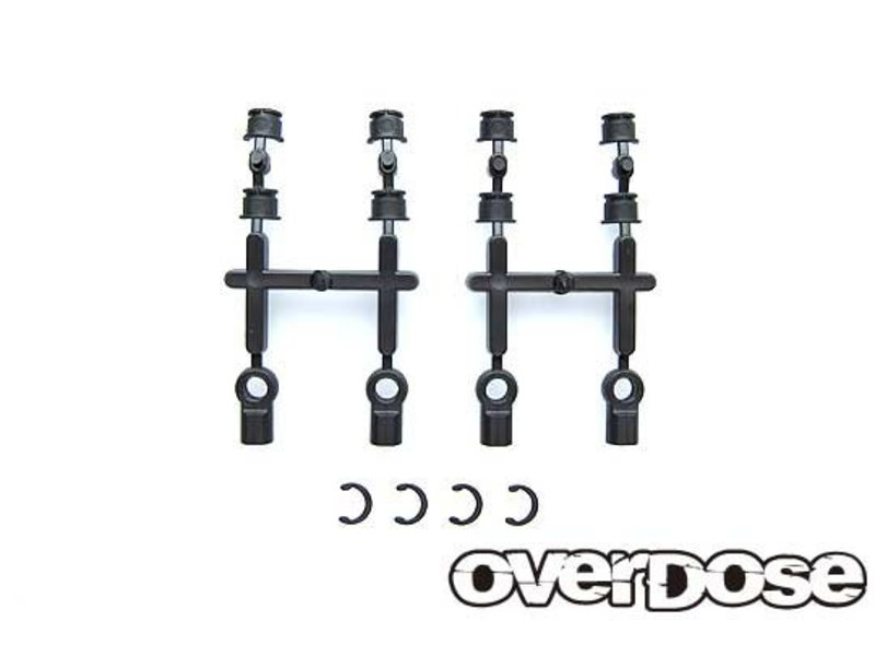Overdose φ4.8mm Ball Bush Set