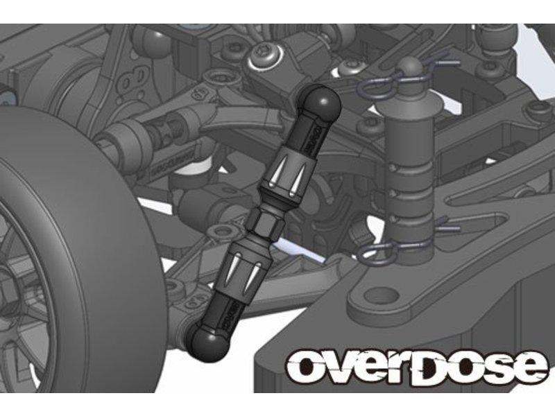Overdose Aluminum Pushrod Turnbuckle for GALM / Color: Black