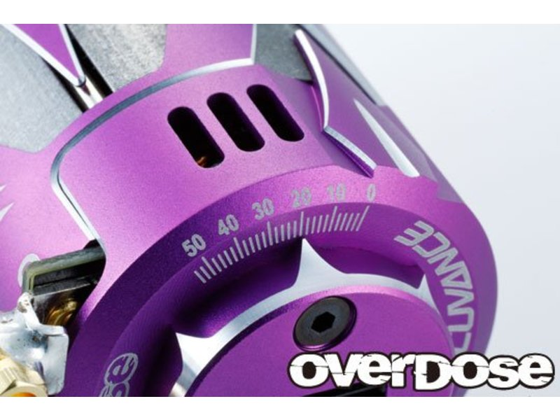 Overdose Factory Tuned Spec. Brushless Motor Ver3. / Turns: 10.5T / Color: Purple