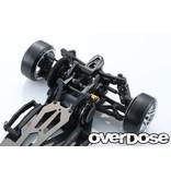 Overdose Multi Purpose Aluminum Rear Bulkhead for GALM / Color: Black