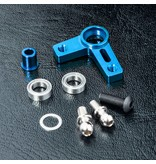 MST Aluminium Arm Set / Color: Blue