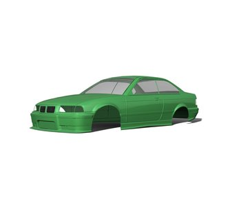 Rc Arlos BMW M3 (E36) Clear Body