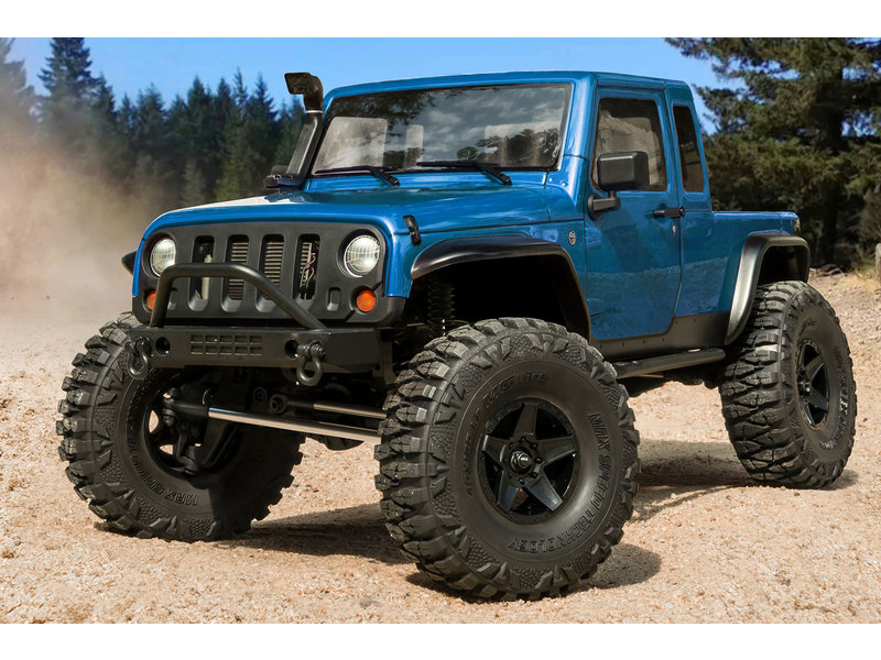 MST CFX-W 1/8 4WD Off-Road RTR / Body: JP1 (Jeep Wrangler) - Blue