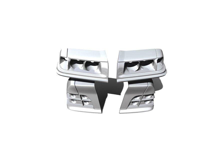 Rc Arlos RC-E36M3LB - Lights Buckets for BMW M3 (E36)
