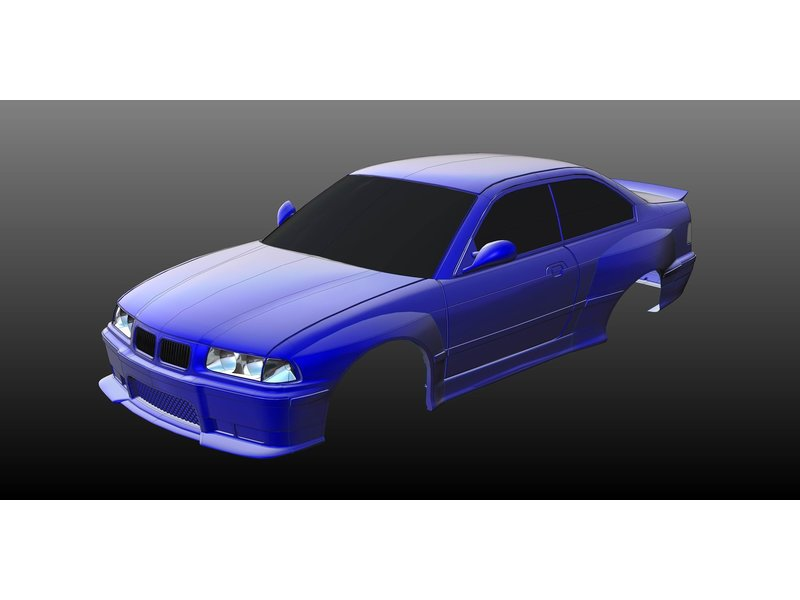 Rc Arlos RC-E36M3WBK - Wide Body Kit for BMW M3 (E36)