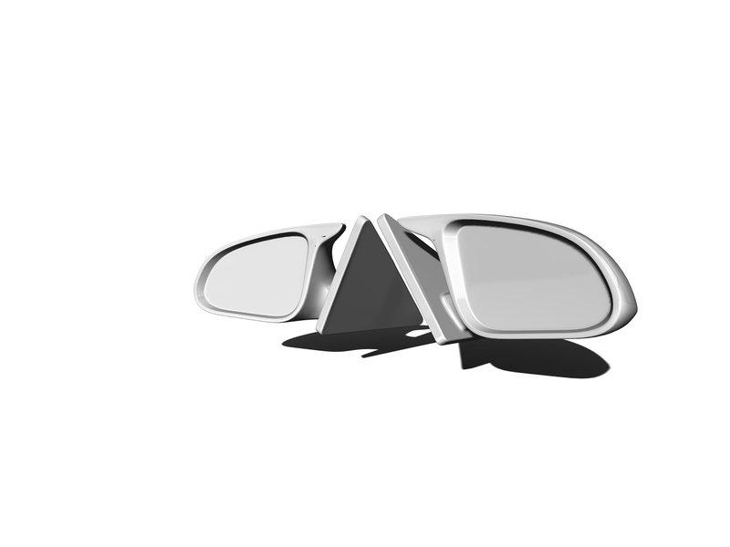 Rc Arlos RC-E82M4M-V2 - Mirrors V2 for BMW M4 (E82)
